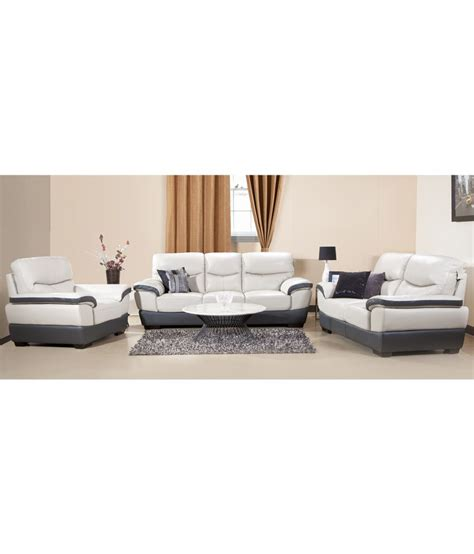 half leather sofa set hometown duval half leather 3 2 1 sofa set buy hometown