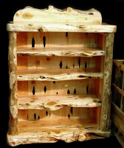 rustic pine dresser plans pine log furniture plans woodworking projects plans