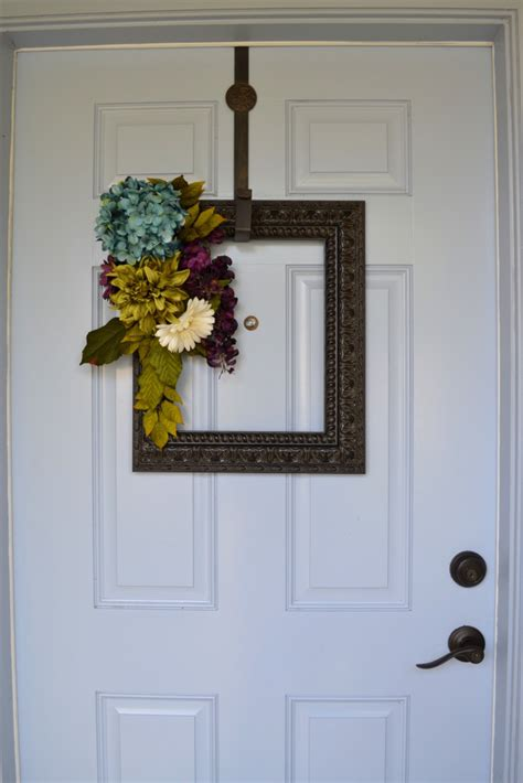 decorating ideas for wire wreaths frames 10 front door decor ideas that are not a wreath