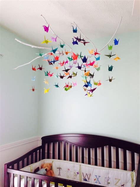 Handmade Baby Mobile Ideas - paper craft ideas baby mobiles ideas crafts