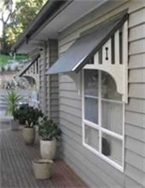 Decorative Window Awnings by Decorative Timber Window Awnings Outside