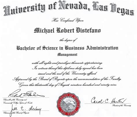 Mba Accounting Unlv by Mike Distefano