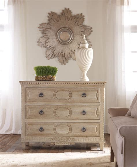 modern history weathered oak chest