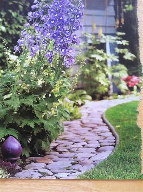 flower bed borders rock border between grass and flower bed le jardin rock border grasses and flower