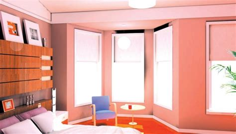 interior exterior plan clutter free modern bedroom design bedroom interior exterior plan pink blue and pink
