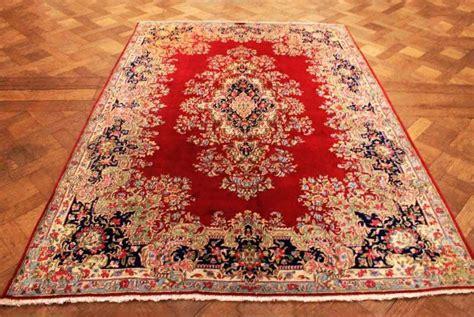 kirman tappeti eccezionale e antico kirman kierman imperiale con decoro