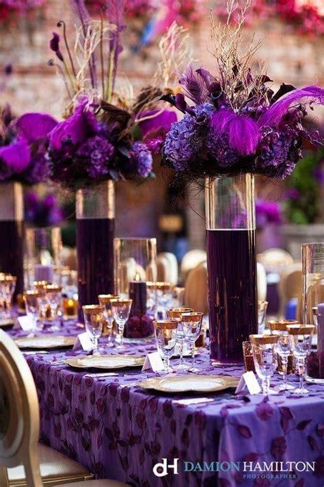 plum wedding centerpieces beautiful plum centerpieces event design by