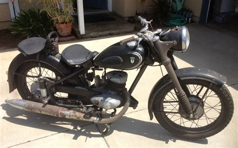 Audi Motorcycle by Audi Motorcycle 1953 Dkw Rt 250