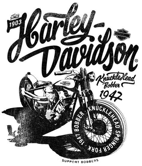Kaos Fangkeh Since 1903 Biker Motorcycle Pin Up store bobbers harley davidson and arms