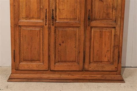 natural wood armoire french natural wood armoire wardrobe cabinet with three