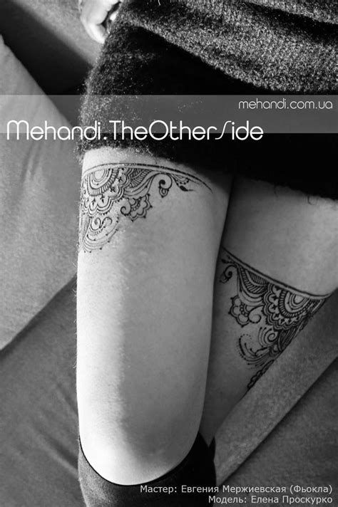 henna tattoo how to use 25 beautiful garter tattoos ideas on lace