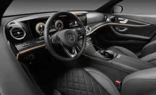 mercedes e class interior revealed