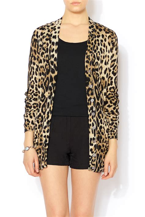 Leopard Print Home Decor by Ellison Leopard Print Cardigan From Glendale By Pink House