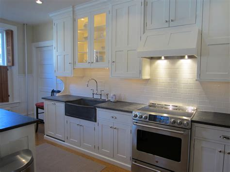 Kitchen Beadboard Backsplash Baroque White Subway Tile Backsplash Mode Philadelphia