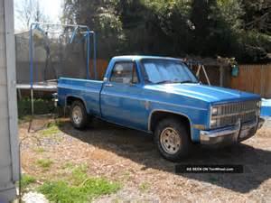 1982 chevrolet c10 silverado standard cab 2 door
