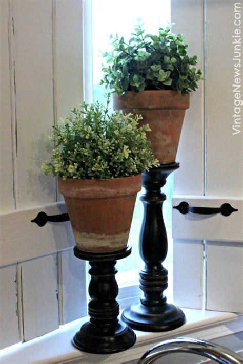 pillars for home decor the ultimate one minute craft diy topiary pillars home
