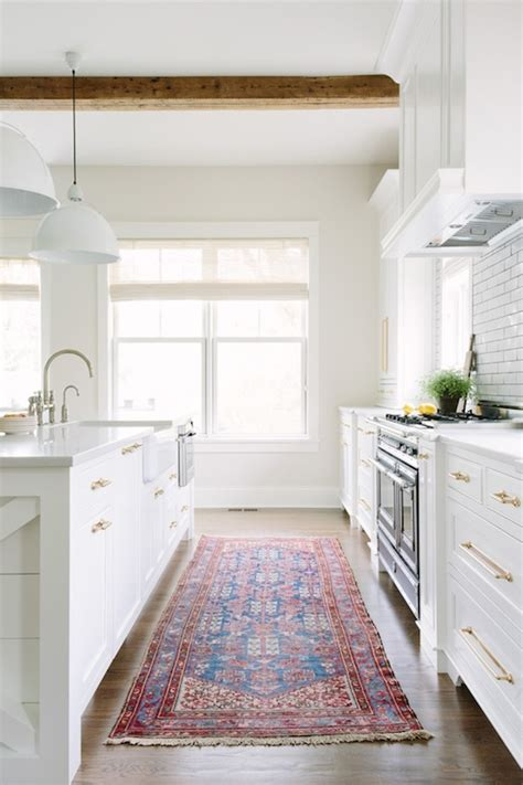 White Kitchen Rugs The Zhush Revisiting Kate Marker Interiors