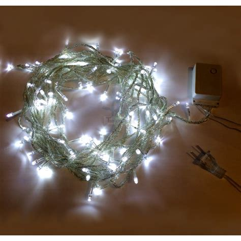 white led string lights 7 99 cool white 10m 8 mode led string lights