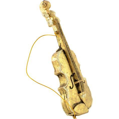 8 quot 11 quot assorted musical instrument ornaments gold set of