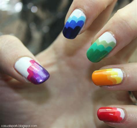 15 Cool Rainbow Nail Designs   Hative