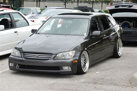 lexus hatchback is300 ccw classic 18 215 11 on slammed lexus is300 sportcross