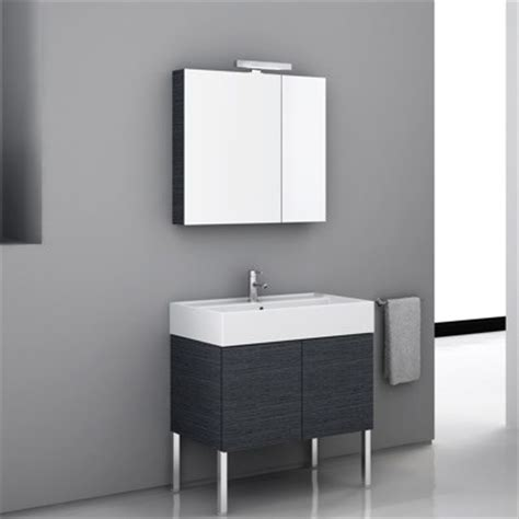 high end vanity set with medicine cabinet contemporary
