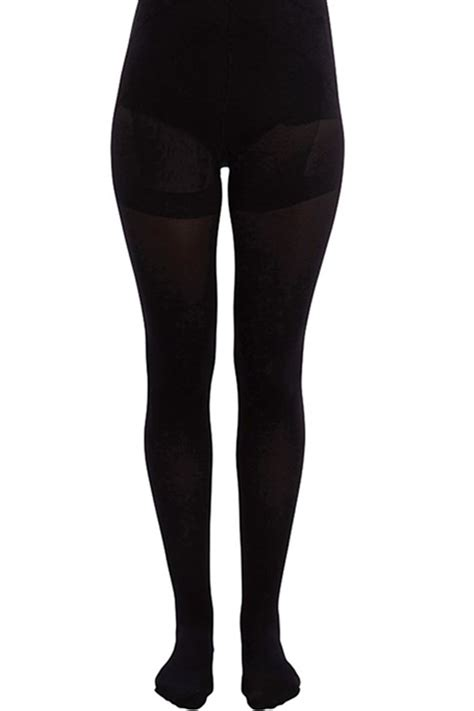 Shaper Tights pieces shaper 40 denier tights in black iclothing