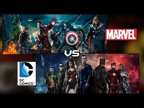 film marvel e dc marvel vs dc 2015 2020 all films breakdown discussion