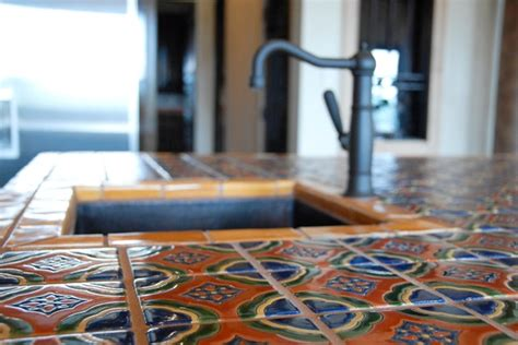 Bathroom Tile Ideas On A Budget mexican tile mediterranean kitchen austin by clay