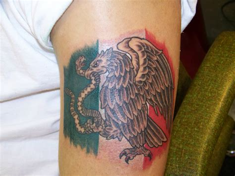 mexican flag tattoo mexican flag http www mexicanfoodnames