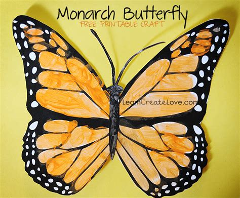 monarch butterfly template printable monarch butterfly template www pixshark images