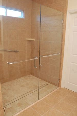 Shower For by Curbless Shower Doors