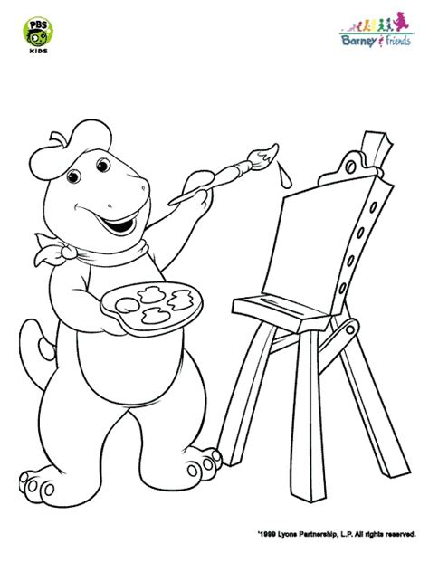 barney coloring pages games barney games for kids free free clipart