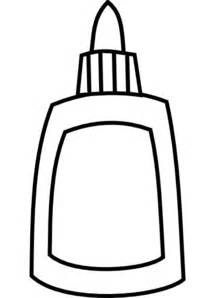 Glue Bottle Clip Art Black And White Images &amp Pictures  Becuo sketch template