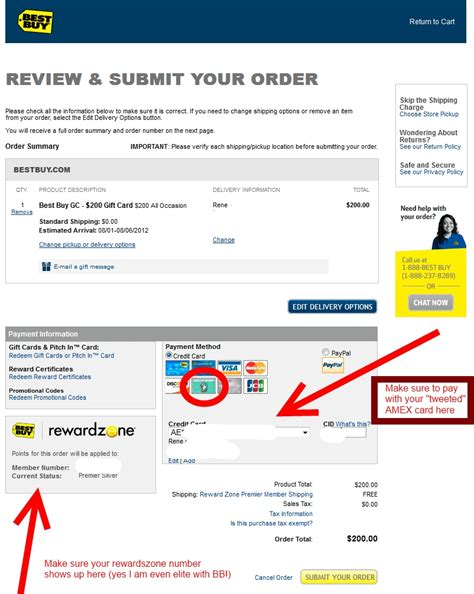 Earn Best Buy Gift Cards - 20 amex best buy twitter deal with a nice payback ren 233 s pointsren 233 s points