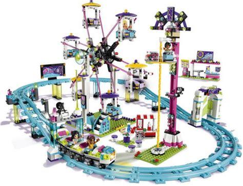 N Friends Roller Coaster 41130 lego lego friends amusement park roller coaster