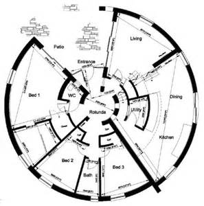 Dymaxion House Floor Plan by 300 Degree House 171 Round Houses
