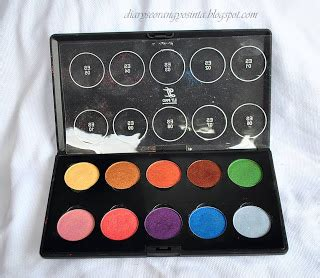 Warna2 Eyeshadow Inez ladypon mua review lt pro perfecting eye color shinny
