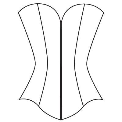 custom corset pattern underbust