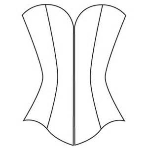corset template custom corset pattern underbust