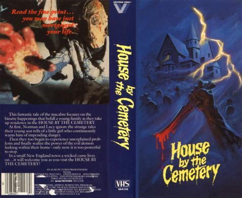 house by the cemetery house by the cemetery vhs cover heyuguys
