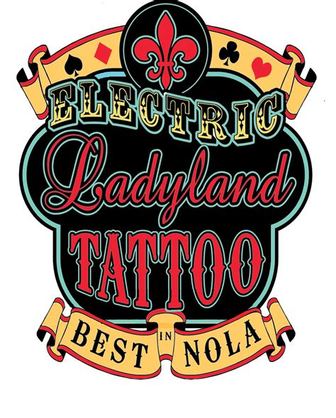 png tattoo shop logo lg welcome to electric ladyland