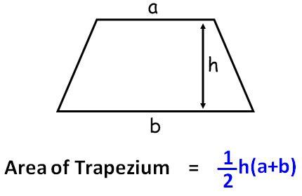 area calculater trapezium area calculator