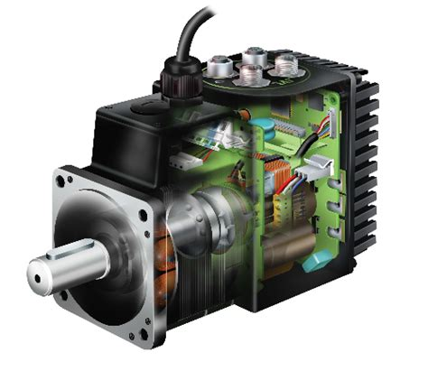 servo motor selection software ac servo motor with built in driver controller