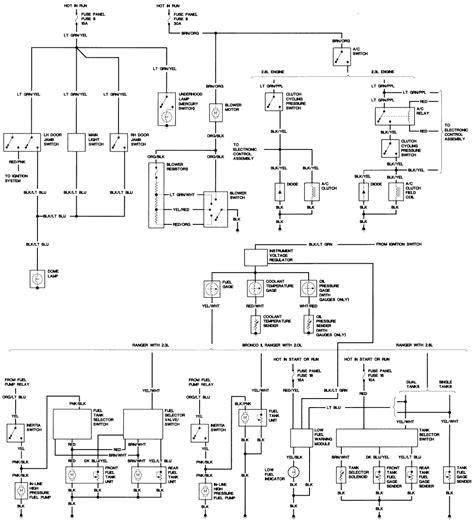 ford truck   efi sohc cyl repair guides wiring diagrams wiring diagrams