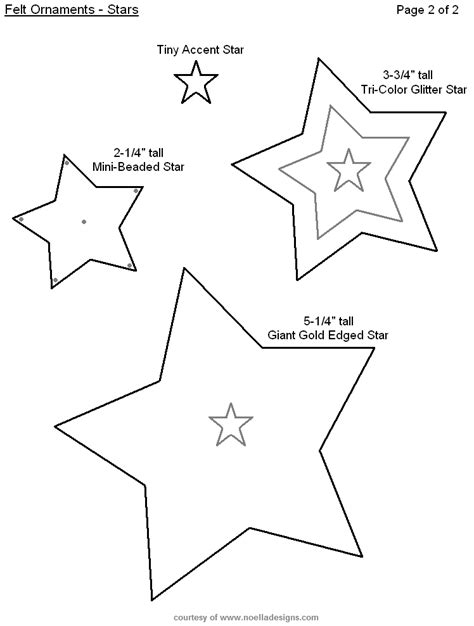 free craft templates to print free printable felt ornament templates