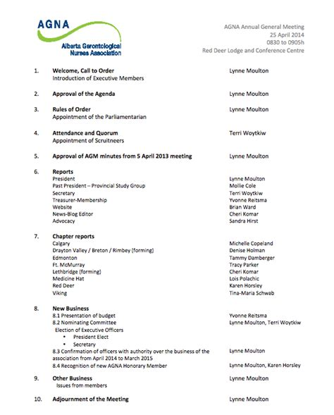 agenda for agm template agm agenda a pdf version here images frompo
