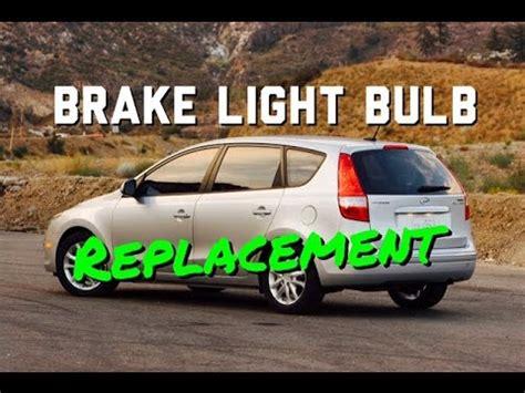 hyundai elantra brake light diy hyundai elantra brake light bulb replacement bundys
