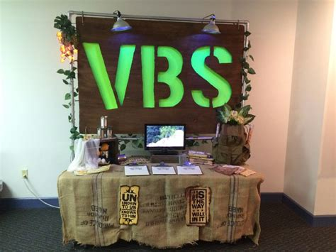 pinterest journey off the map leader registration table for vbs 2015 journey off the map
