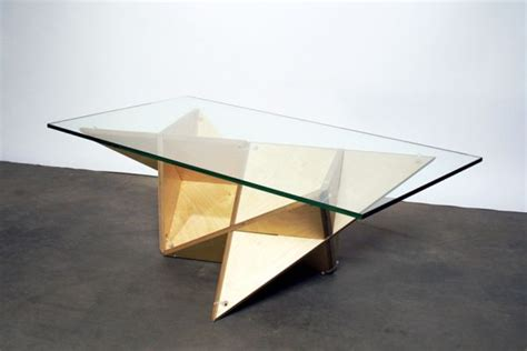 Origami Table - explore unique and unconventional designs inspired by origami